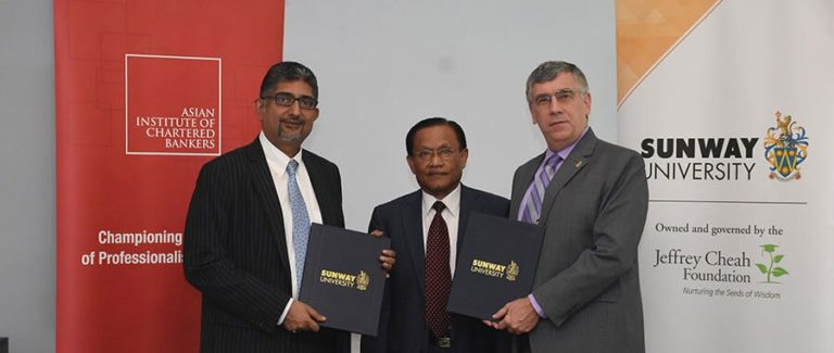 AICB – Sunway University MoU Signing Ceremony